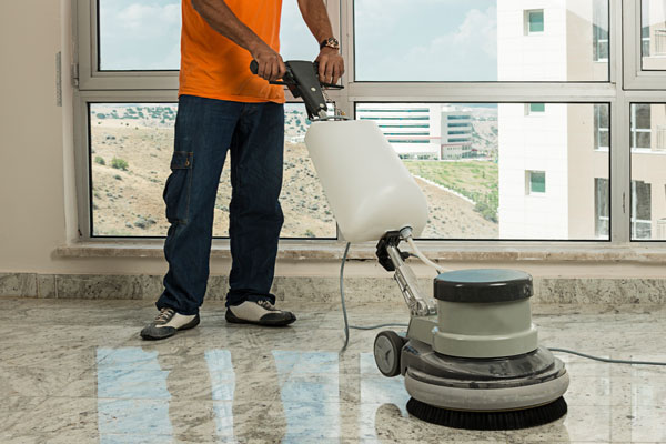 commercial floor cleaning in Tampa, FL
